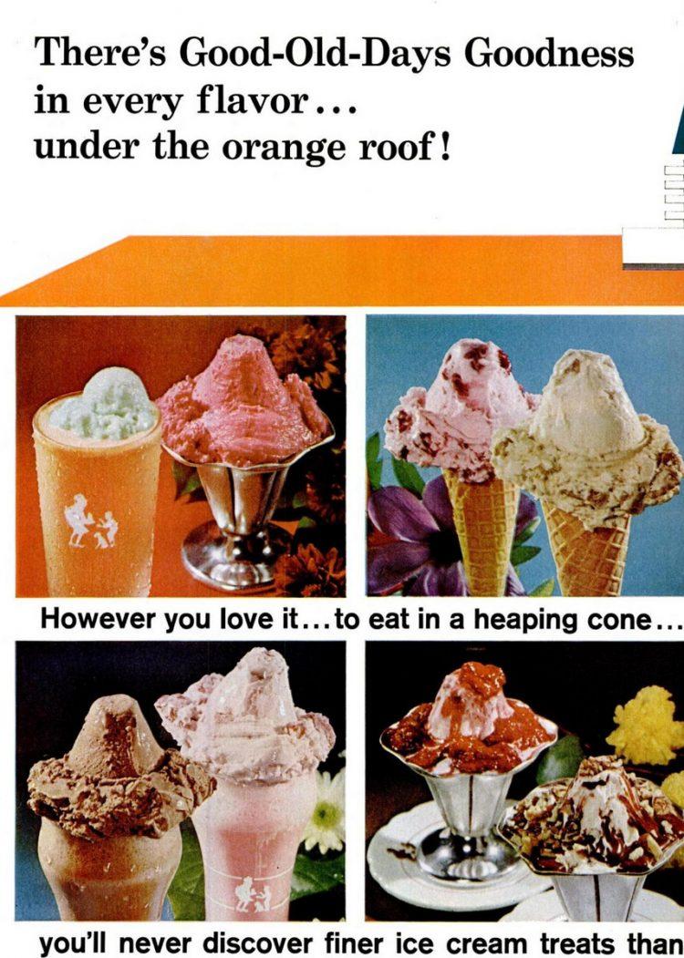 Howard Johnson's ice cream shops & restaurants in the 1960s (2)