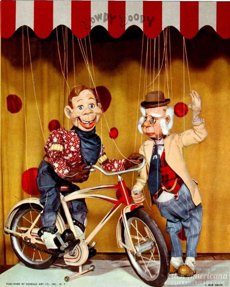 Howdy Doody color TV promo