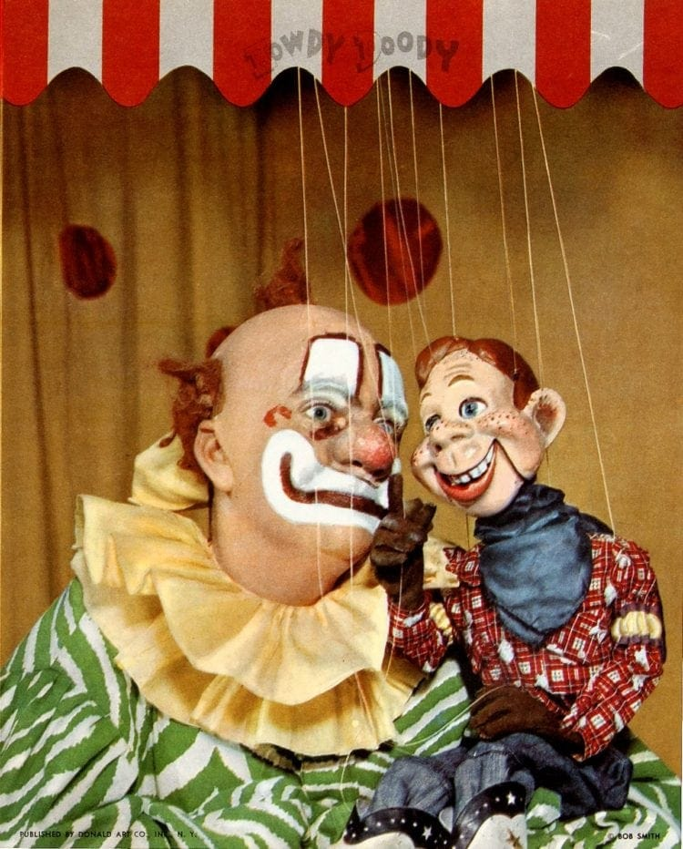 Howdy Doody with Clarabell the Clown