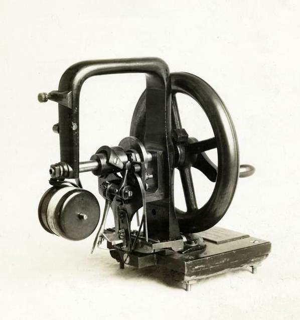 Who invented the sewing machine? Howe's first sewing machine