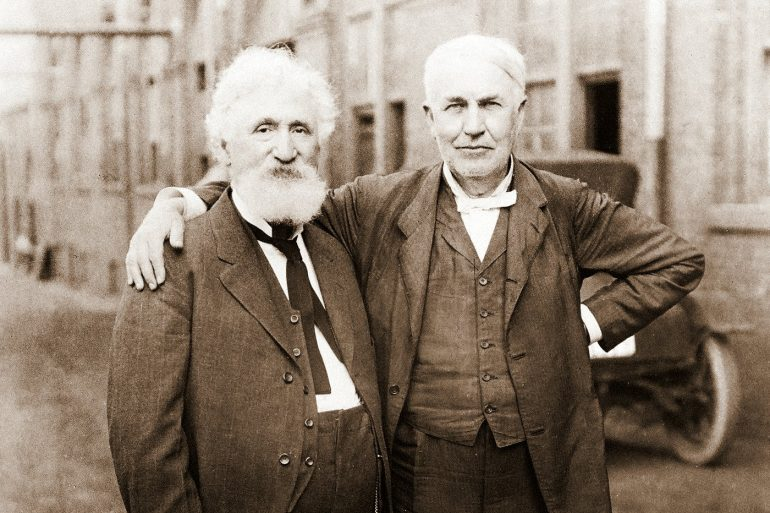 Hudson Maxim and Thomas Edison-001