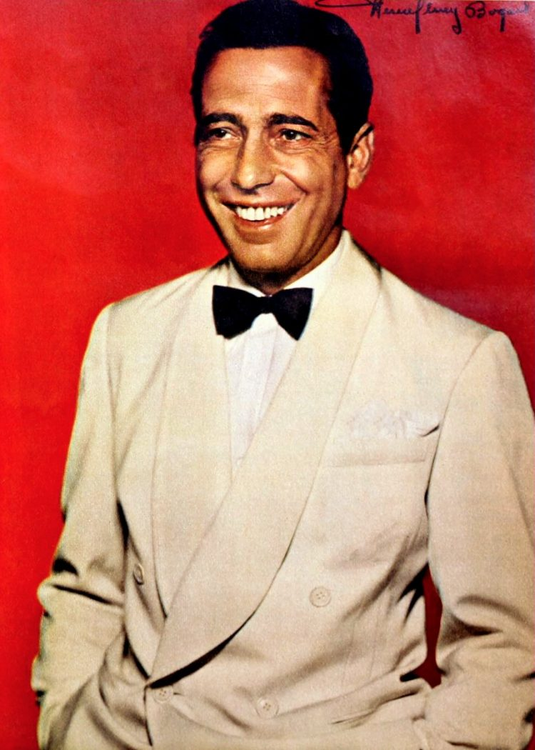 Humphrey Bogart Things I don't like about myself (1942)