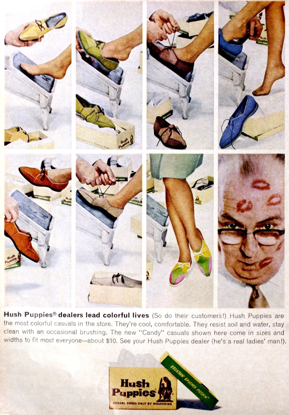 Hush Puppies dealers lead colorful lives (1963)