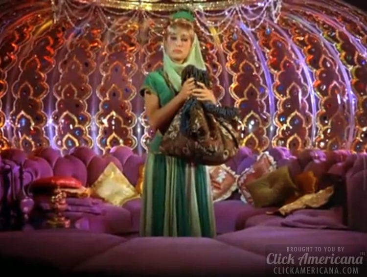 The I Dream Of Jeannie Bottle Tv Magic With Props Sets Special Effects Click Americana