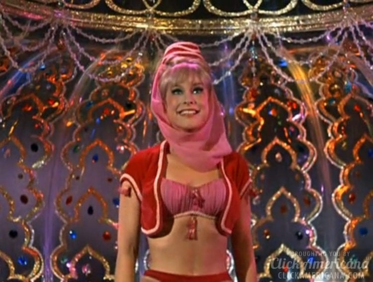 Jeannie TV show - In the genie bottle