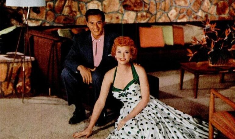 I love carpet Lucy & Desi Arnaz choose their dream carpet (1955)