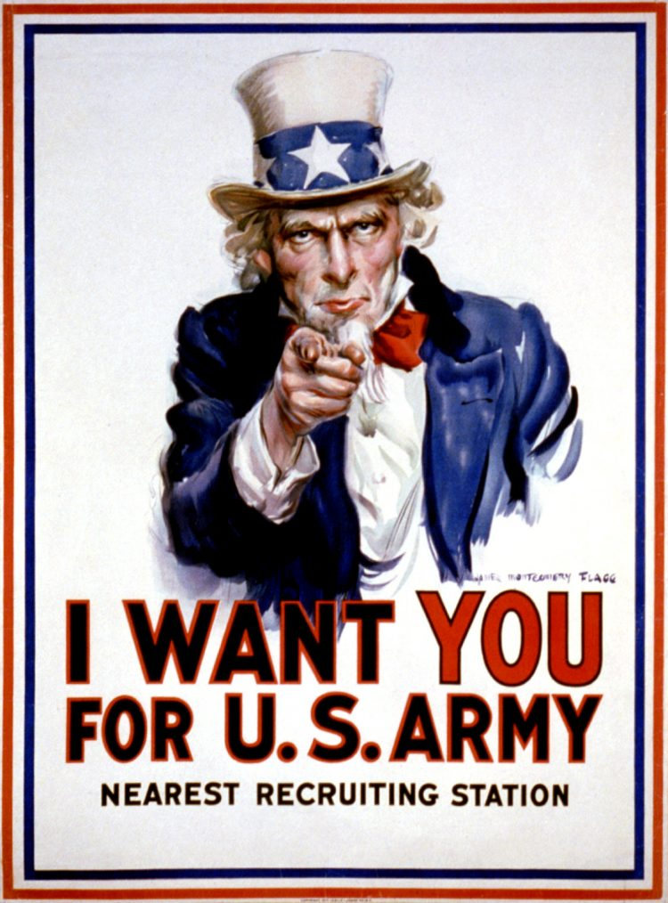 I want you for U.S. Army - Uncle Sam 1917