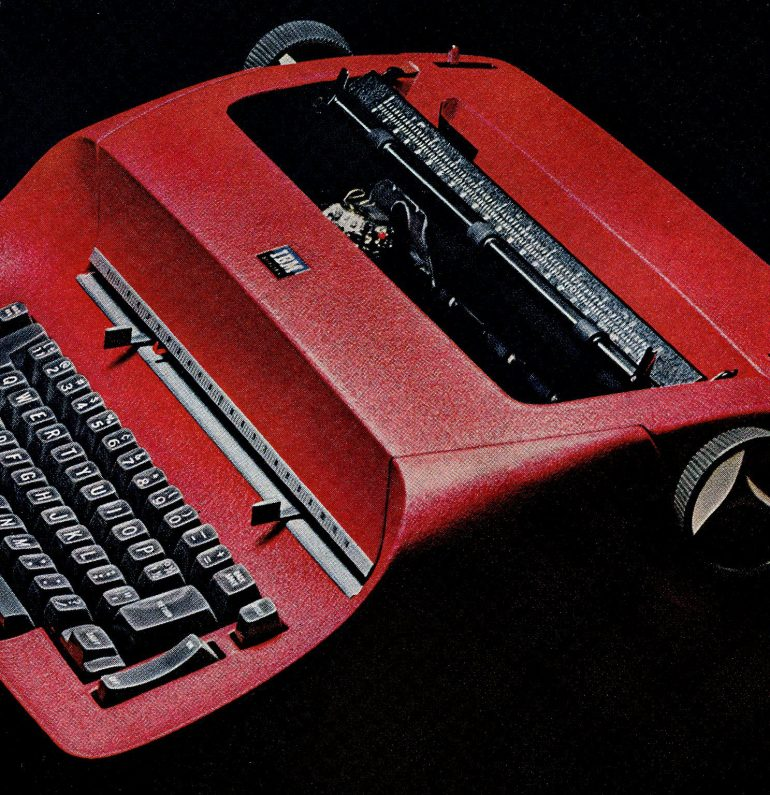 IBM Selectric typewriter 1965