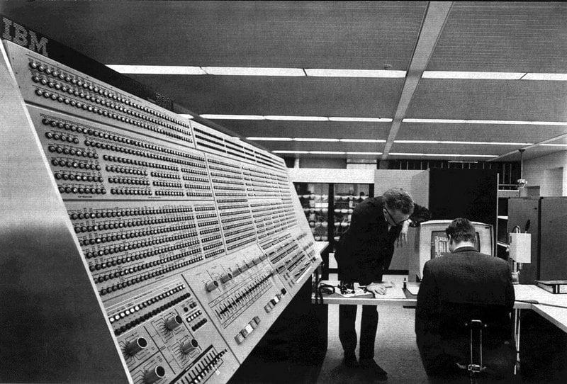 IBM System 360 Model 91 computer 1960s