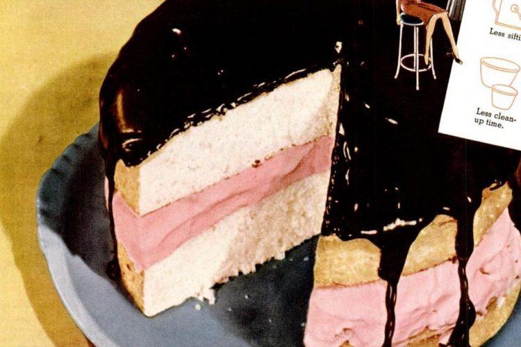 Ice cream cake and hot chocolate frosting recipe - 1941