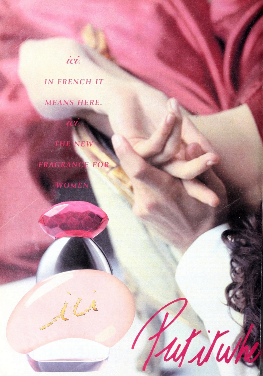 Ici fragrance for women (1995) at ClickAmericana.com