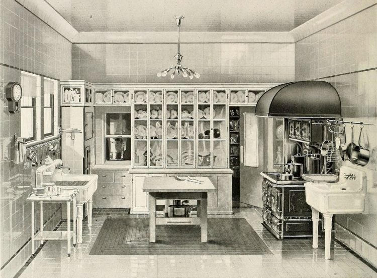 Ideal kitchen from 1908