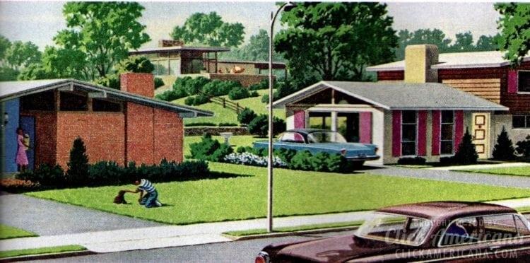 Idyllic scenes from Philadelphia's suburbs in 1962
