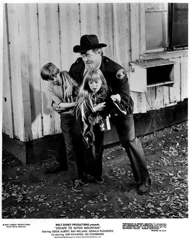 Ike Eisenmann Kim Richards Escape to Witch Mountain 1975