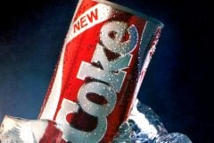 In the '80s, New Coke launched and failed