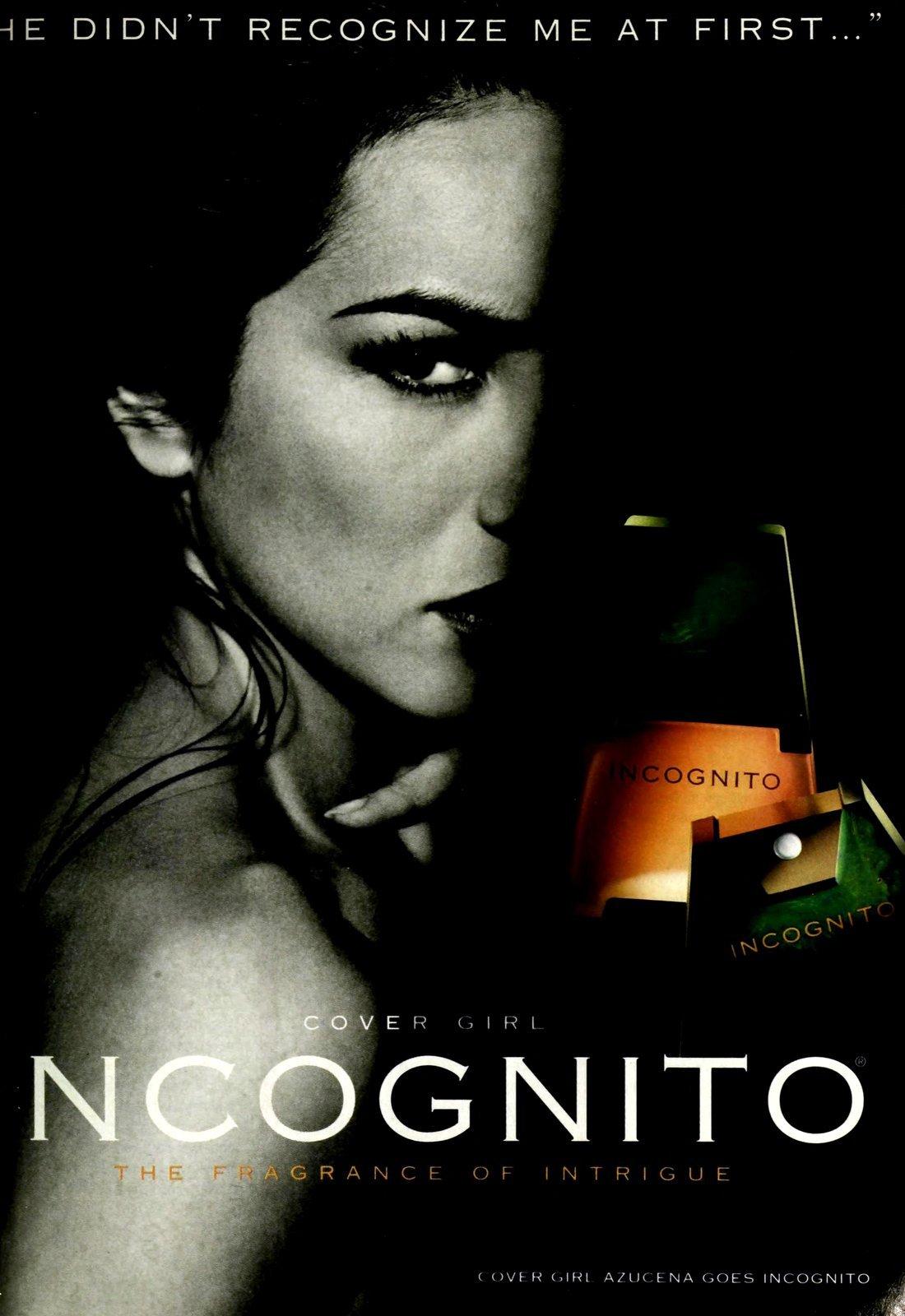 Incognito perfume from Cover Girl (1993) at ClickAmericana.com