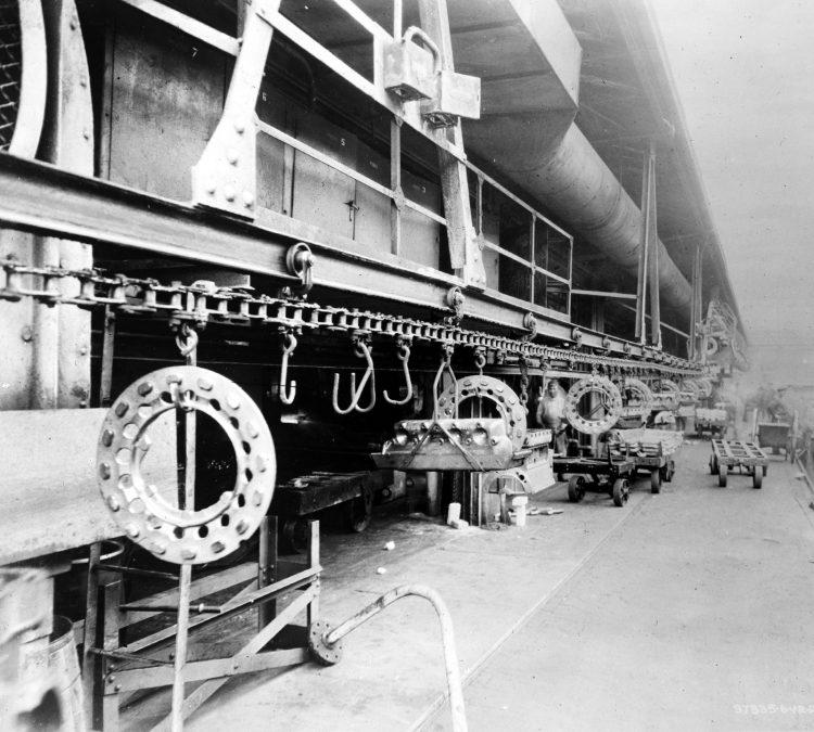 Incoming trunk line conveyor 1924