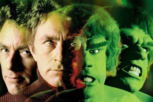Incredible Hulk TV show transformation