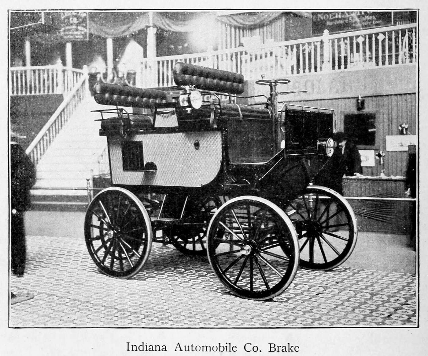 Indiana Automobile Co. Brake (1899)