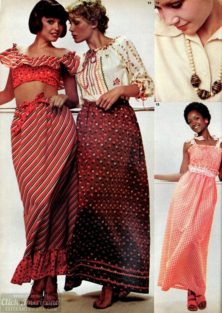 DIY 70s fashions for juniors