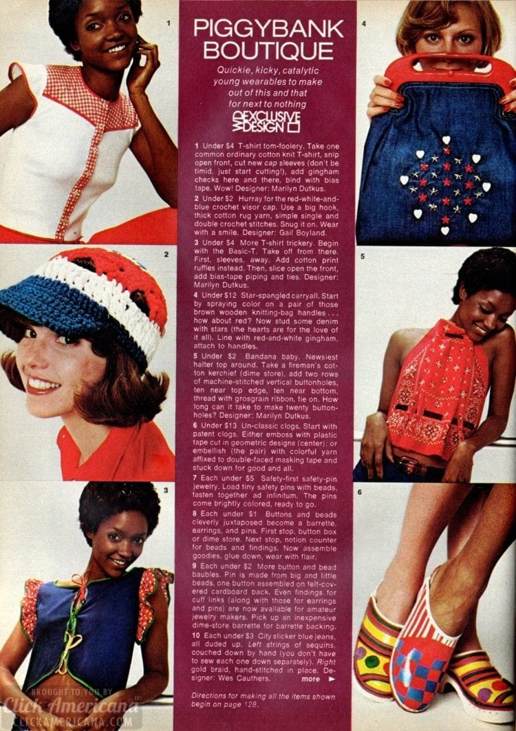 Affordable '70s clothes