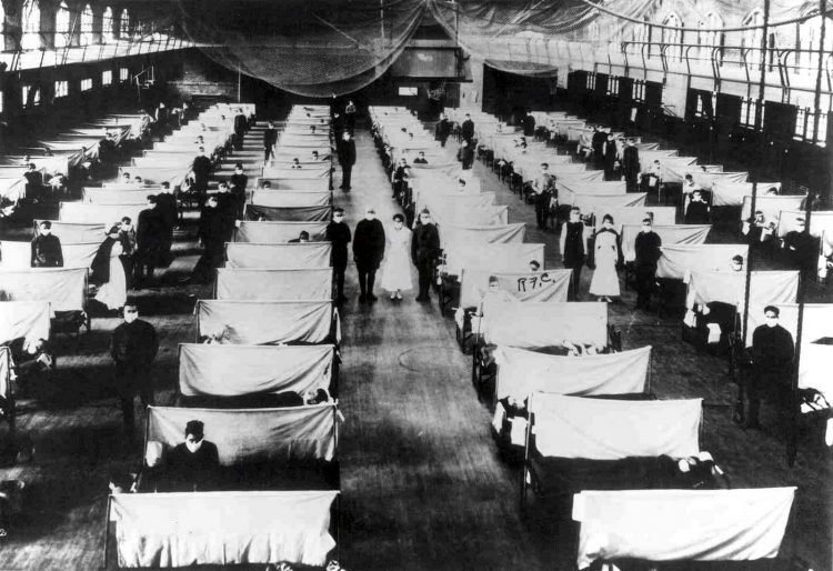 Influenza patients during the 1918 flu pandemic in Iowa - From the Office of the Public Health Service Historian CDC