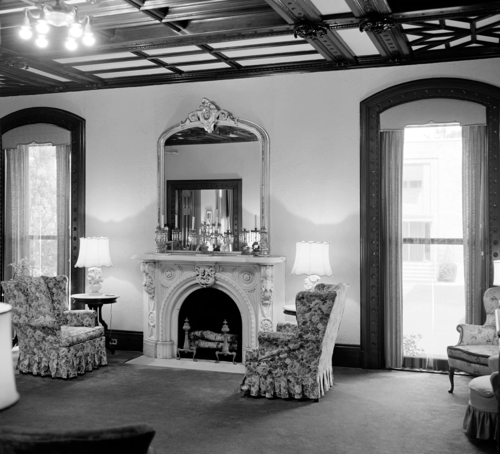 Inside Armsmear - Samuel Colt's old home in Hartford, Connecticut