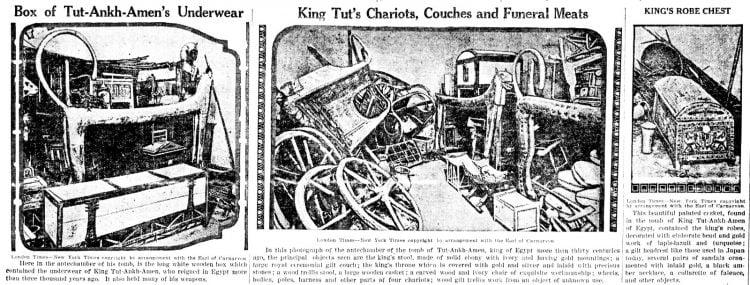 Inside Tutankhamun's tomb - King Tut - March 1 1923 (2)