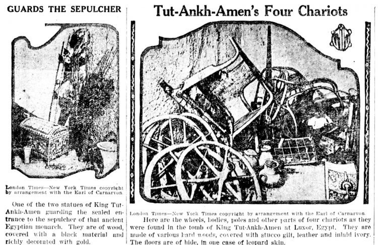 Inside Tutankhamun's tomb - King Tut - March 1 1923 (3)