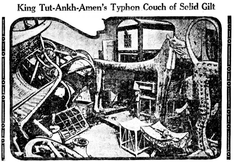 Inside Tutankhamun's tomb - King Tut - March 1 1923 (4)