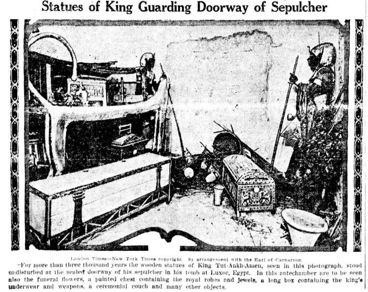 Inside Tutankhamun's tomb - King Tut - March 1 1923 (5)