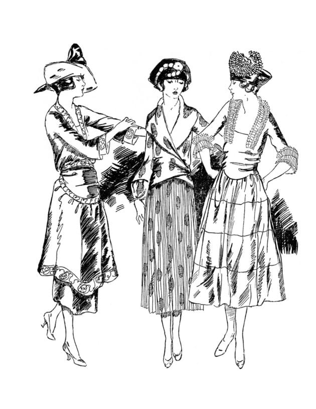 coloring pages 1920s - photo#34