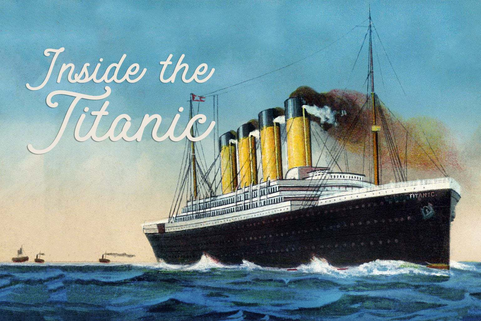 Inside the Titanic - Luxurious doomed ship