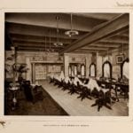 Inside the Waldorf-Astoria Hotel - Barber - 1903