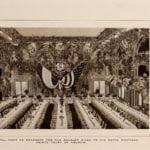 Inside the Waldorf-Astoria Hotel - Grand Ball Room in 1903