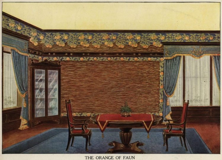 Inspiration for vintage home decor and wallpaper from 1912 (1)
