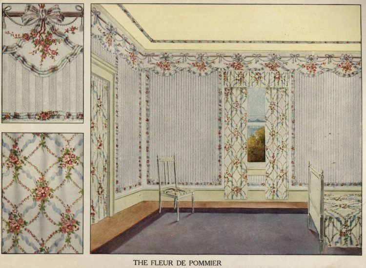 Inspiration for vintage home decor and wallpaper from 1912 (3)