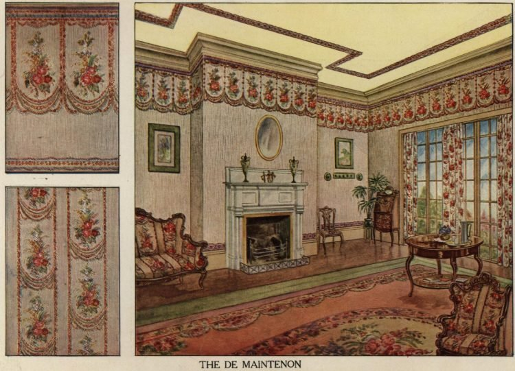 Inspiration for vintage home decor and wallpaper from 1912 (4)