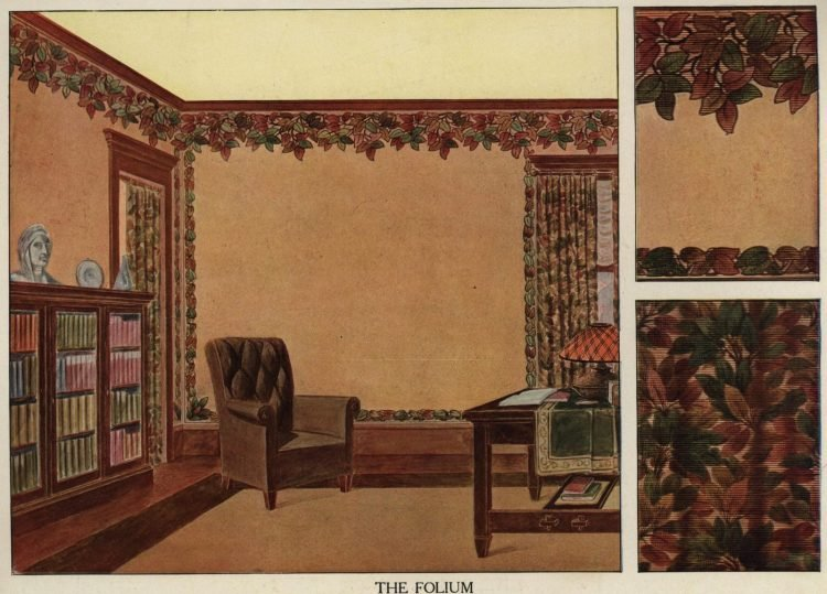 Inspiration for vintage home decor and wallpaper from 1912 (5)