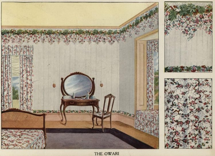 Inspiration for vintage home decor and wallpaper from 1912 (6)