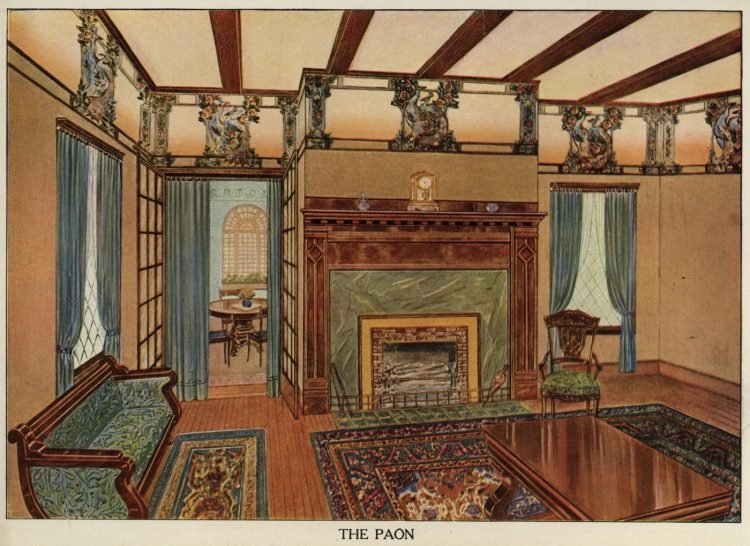 Inspiration for vintage home decor and wallpaper from 1912 (7)
