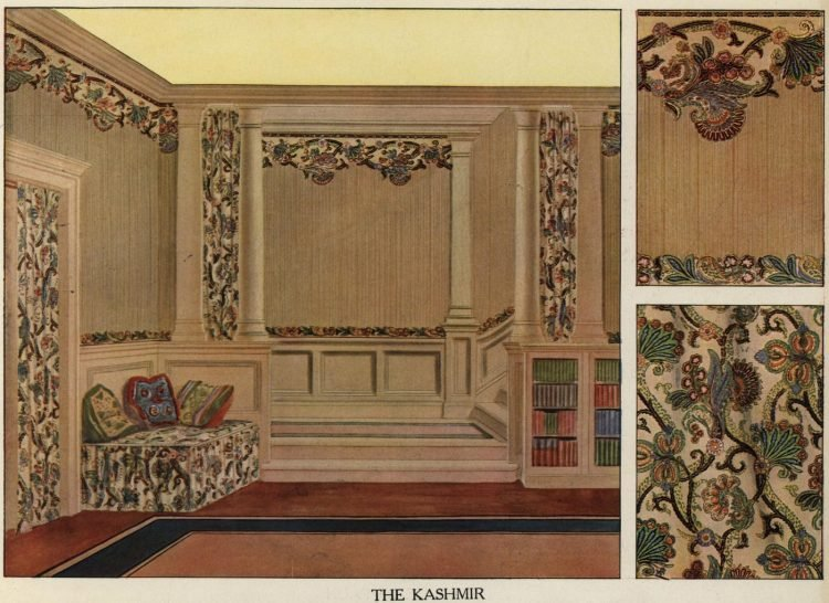 Inspiration for vintage home decor and wallpaper from 1912 (8)