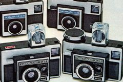 Instamatic cameras The boxy, iconic cameras that pretty much everyone had in the '60s & '70s