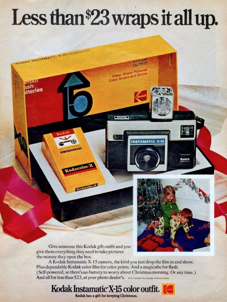 Instamatic cameras from the 1970s