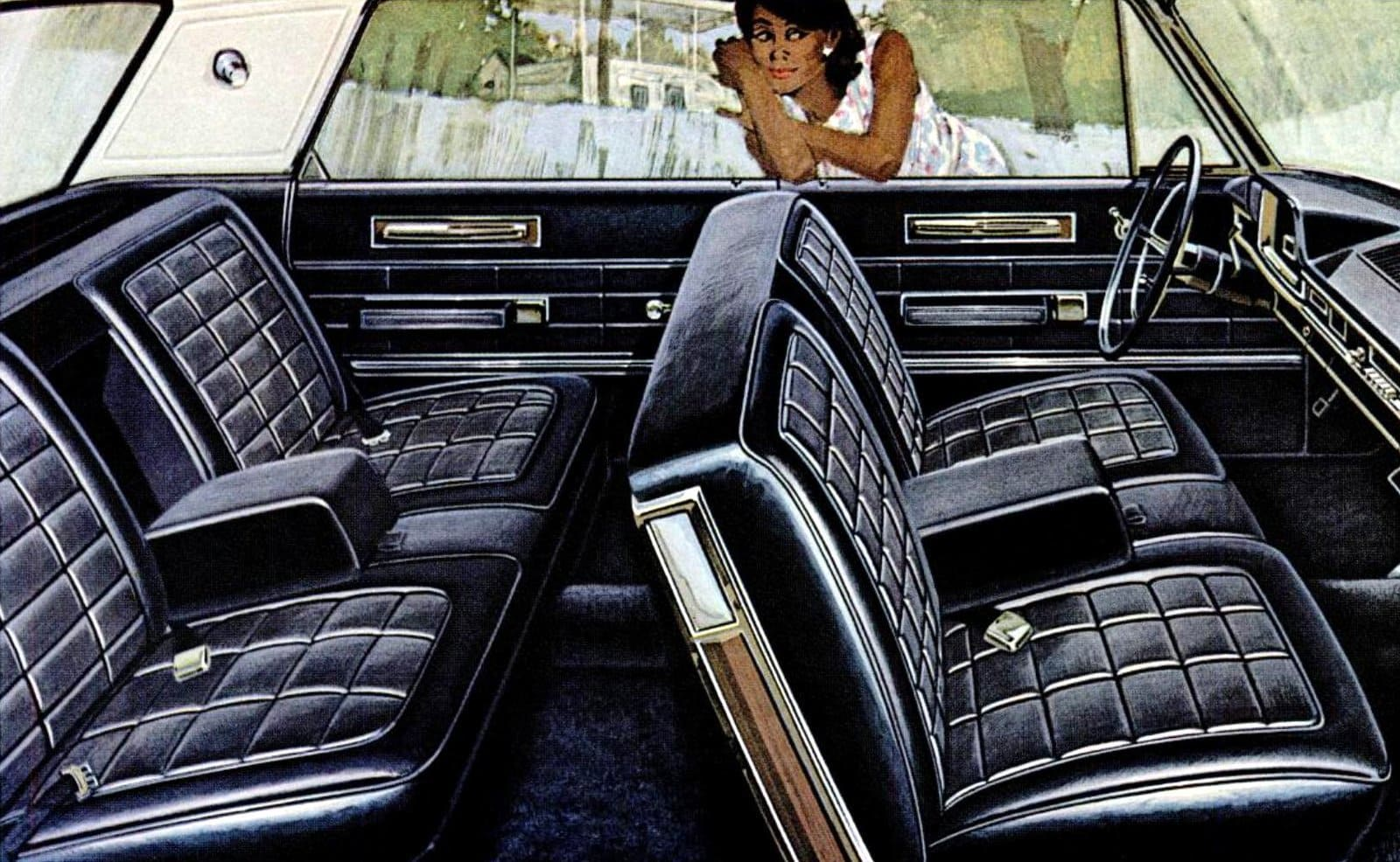 Interior of the '66 Plymouth VIP