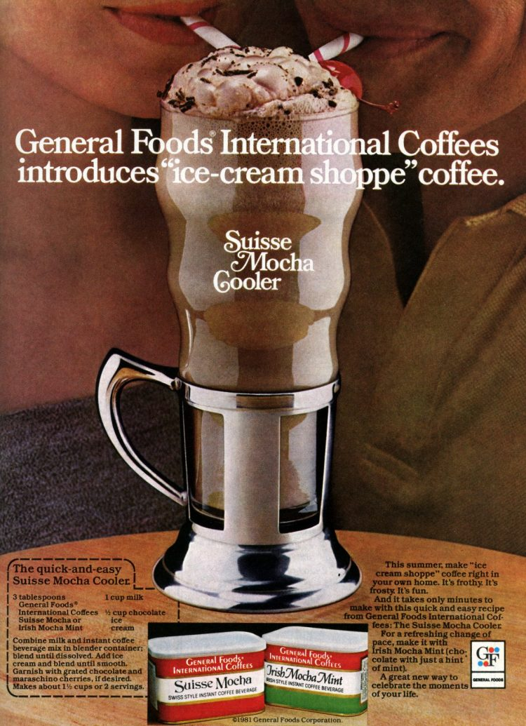 International coffees - Suisse Mocha Cooler (1981)