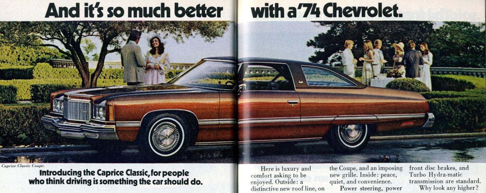 Introducing 1974 Caprice Classic