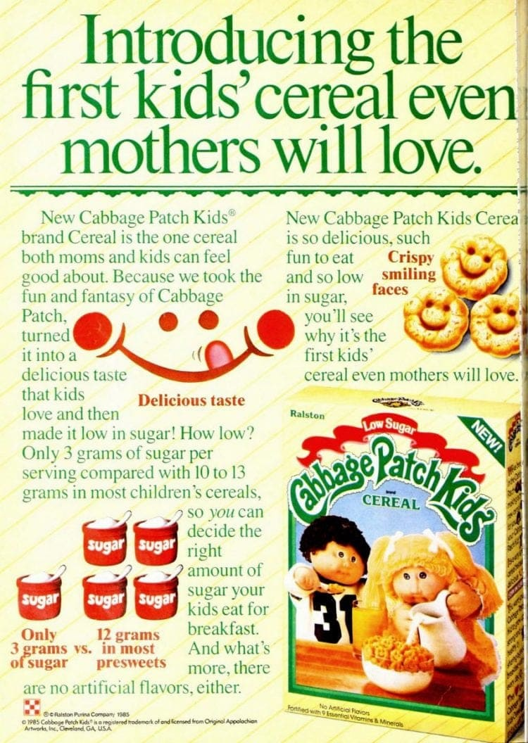 Cabbage Patch Kids Cereal (1985)