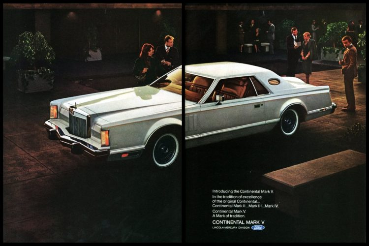 Introducing the Continental Mark V from 1976 (1)
