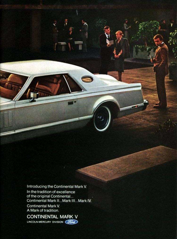 Introducing the Continental Mark V from 1976 (2)